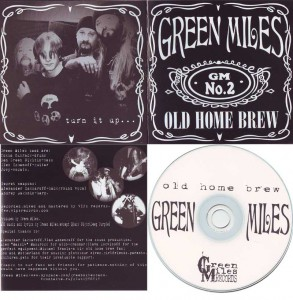 "Greenmiles. ""Old home brew"" album cover"