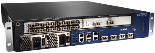 Juniper MX80 3D Universal Router